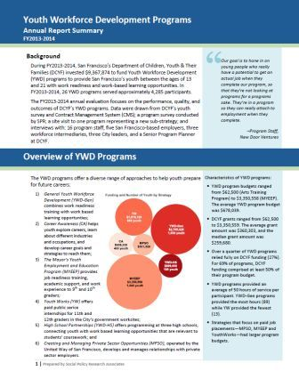DCYF Teen YWD Report Cover