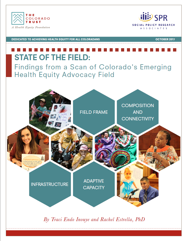 Cover of State of the Field scan