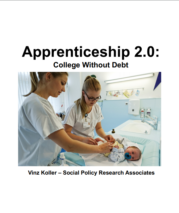 Cover of Apprenticeship 2.0: College Without Debt Slides