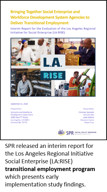 Cover of LA:RISE report