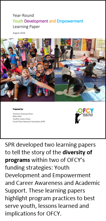 Cover of OFCY Report