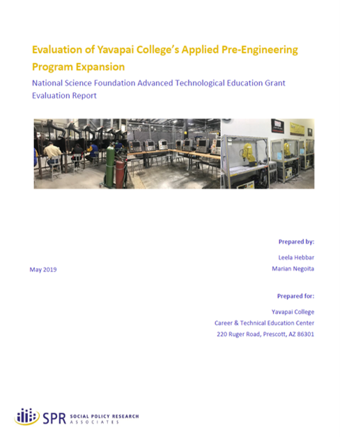 Cover of Yavapai Evaluation Report