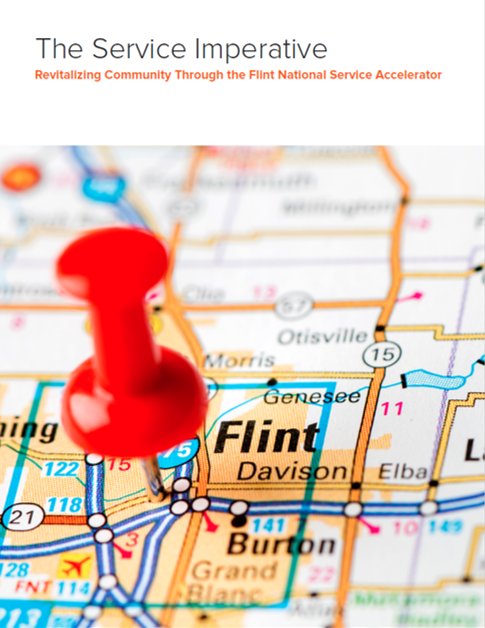 Cover of The Service Imperative: Revitalizing Community Through the Flint National Service Accelerator
