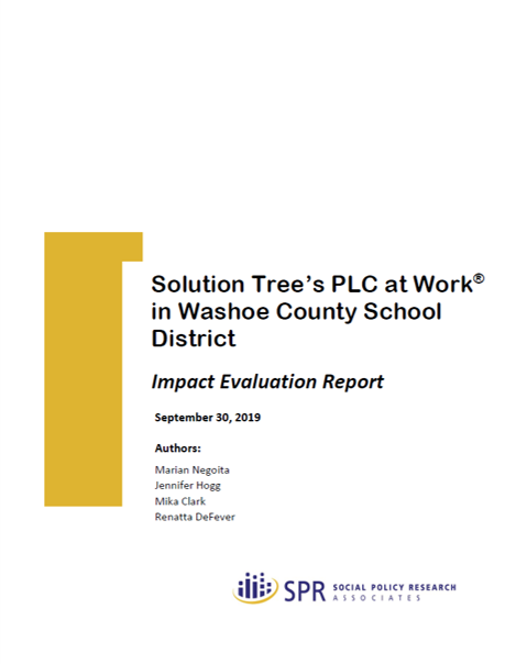 Cover of Washoe Report