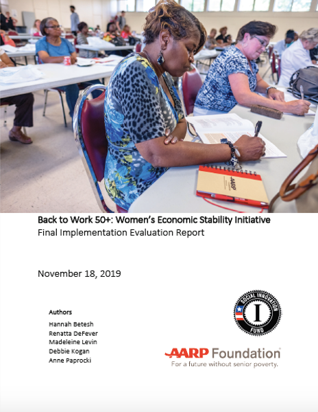 Cover of BTW 50+ Implementation Report