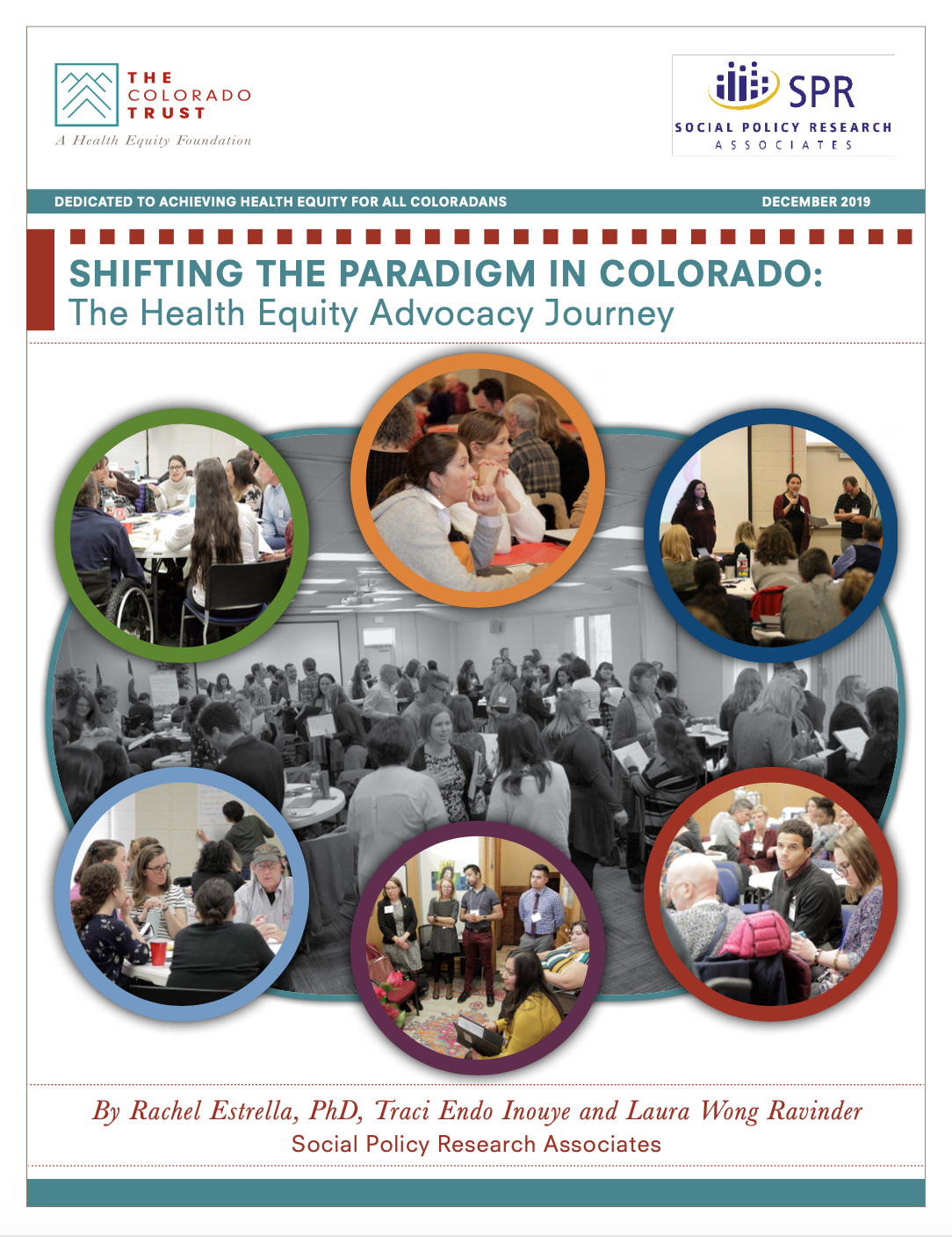 Cover of Shifting the Advocacy Paradigm in Colorado: The Health Equity Advocacy Journey